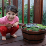 Our First Fairy Garden