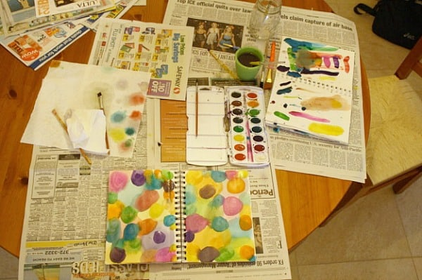 The Benefits of Doing Art Journals with Your Child