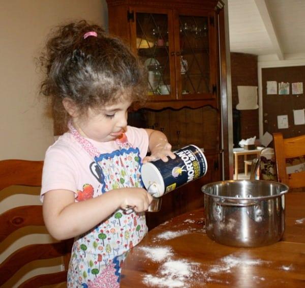 Cooking Homemade Play Dough