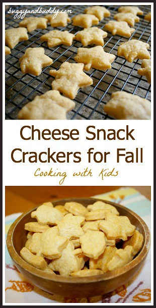Cheese Snack Crackers for Fall~ Buggy and Buddy