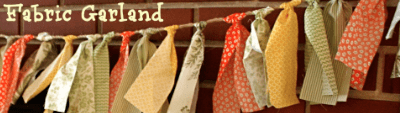 Fabric Garland Decor for Autumn