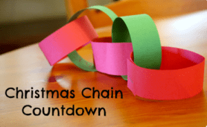The Christmas Countdown Chain