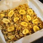 Banana Chip Breakfast Bars  {recipe}