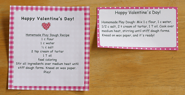 Play Dough Valentine Printables~ Buggy and Buddy