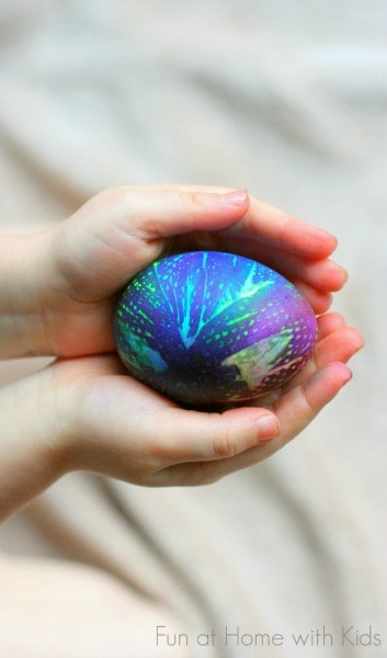 Tie Dyed Easter Eggs