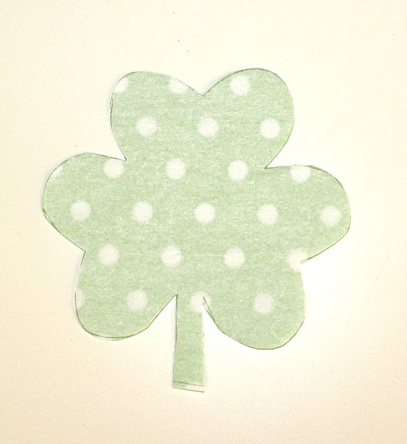 cut out shamrock