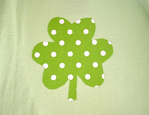 shamrock on shirt