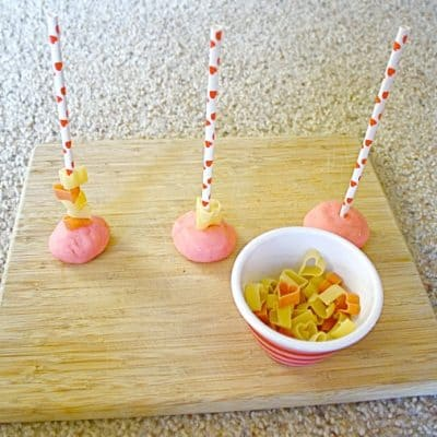 Activities for Toddlers: Heart-Themed Fine Motor Activity