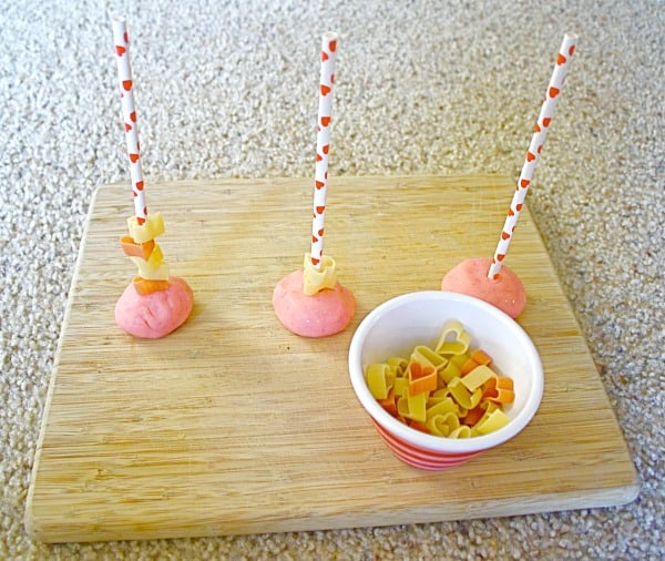 Valentine Toddler Activity with Fine Motor Practice