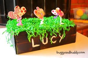 Heart Garden Valentine Box