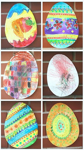 Easter Craft for Kids Based on the Story, Rechenka's Eggs