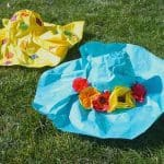Spring Crafts for Kids: Paper Mache Hats
