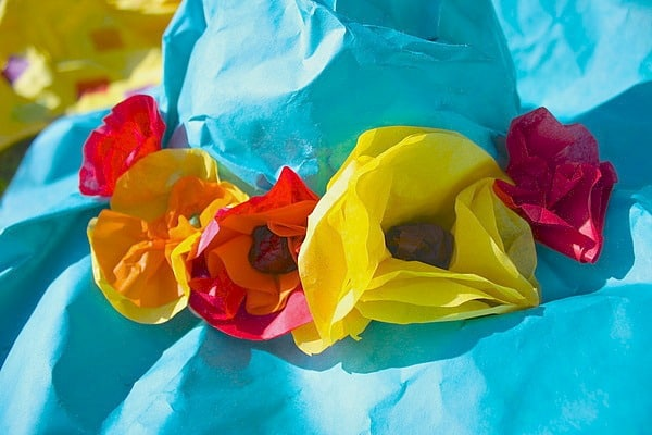 Spring Crafts for Kids: Paper Mache Spring Hat