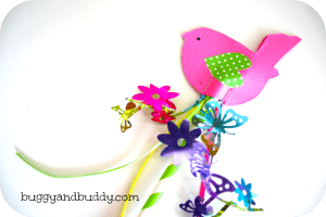 Make a Spring Wand (Spring Crafts for Kids)