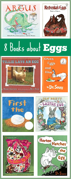 8 Children's Books about Eggs