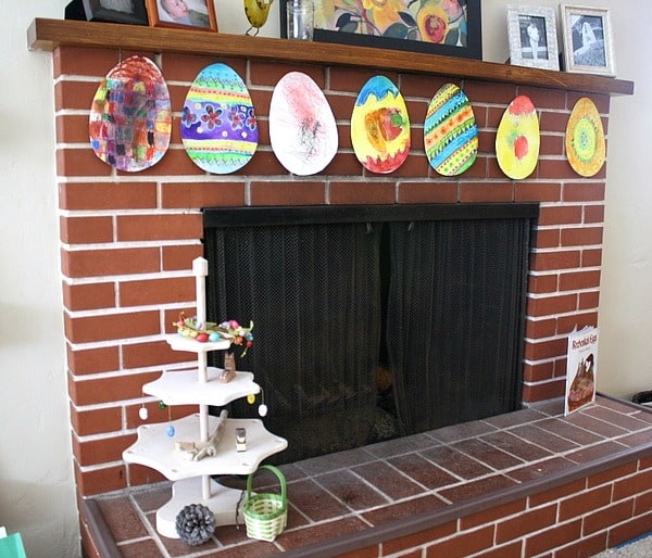Easter Craft for Kids: Oil Pastel & Watercolor Eggs Based on the Story, Rechenka's Eggs