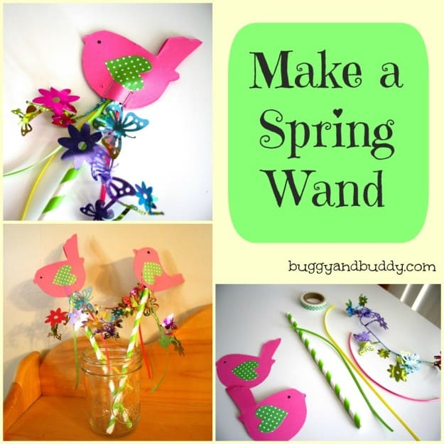 make a spring wand