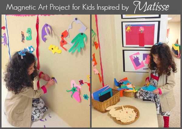 Art for Kids Inspired by Matisse~ BuggyandBuddy.com