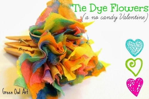 Tie Dye Flowers