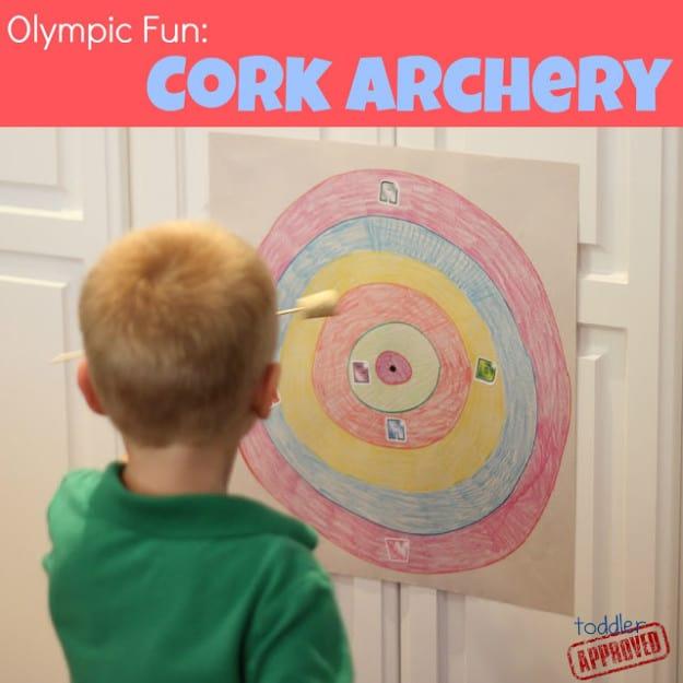 cork archery cover