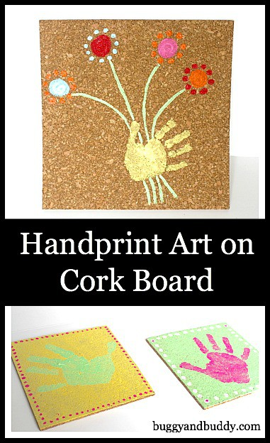 cork board art