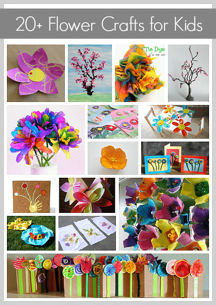 20 gorgeous flower crafts crafts for kids over 20 gorgeous flower crafts for kids to make mightylinksfo Choice Image