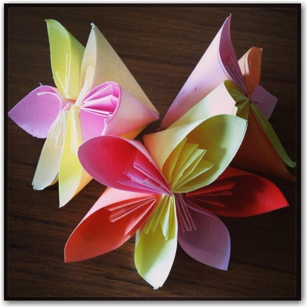 Craft Flowers For Kids Part - 39: Daffodil Craft By Naturally Educational. Origami Flowers