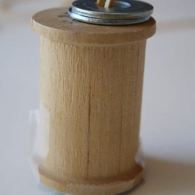 Making a Spool Car (Science for Kids)