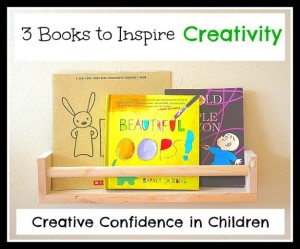 Encouraging Confidence and Creativity in Children {Book Set}