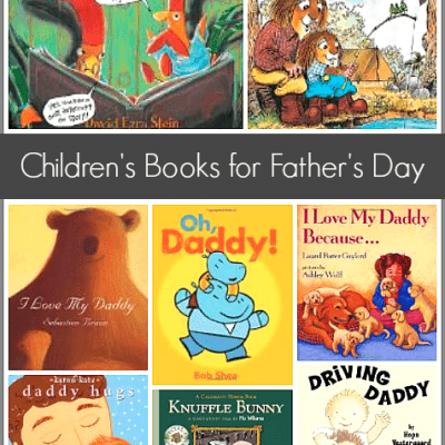 Children's Books List for Father's Day