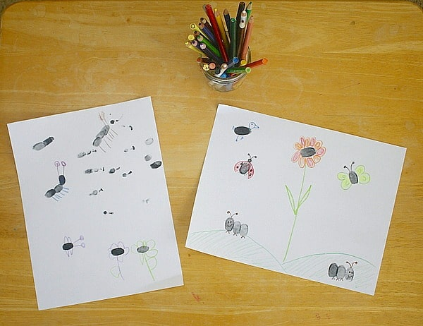 our fingerprint drawings