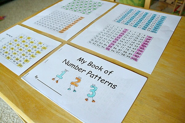 Finding Number Patterns in a Hundred Chart (Free Printable)