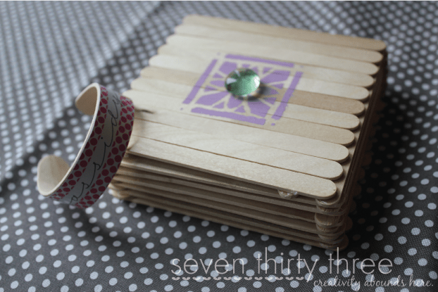 Learning Playing Crafts For Kids Using Popsicle Sticks