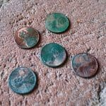 Chemical Reactions: Make a Penny Turn Green (with free printable)