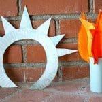 Crafts for Kids: Make a Statue of Liberty Crown and Torch