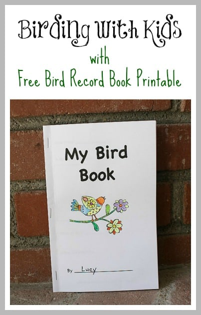 bird book cover - Free Printable Books For Kids