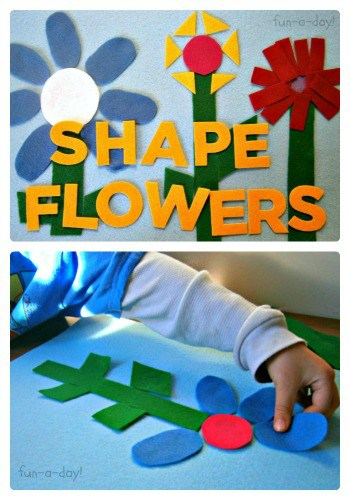 shape flowers