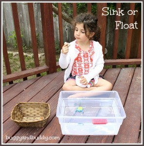 Science for Kids: Sink or Float (with Free Printable)