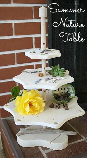 summer nature table header