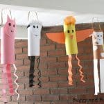 Farm Animal Windsock Craft for Kids