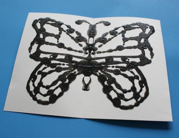 butterfly folded older child