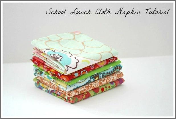 cloth napkin tutorial~ buggy and buddy
