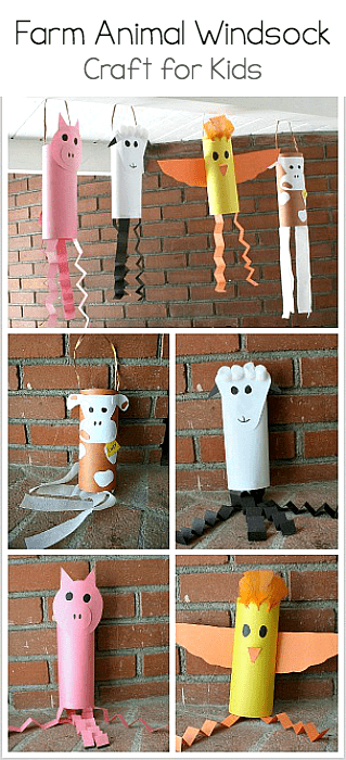 Farm Animal Windsocks
