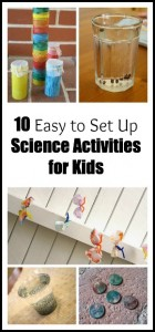 10 Easy Science Activities for Kids