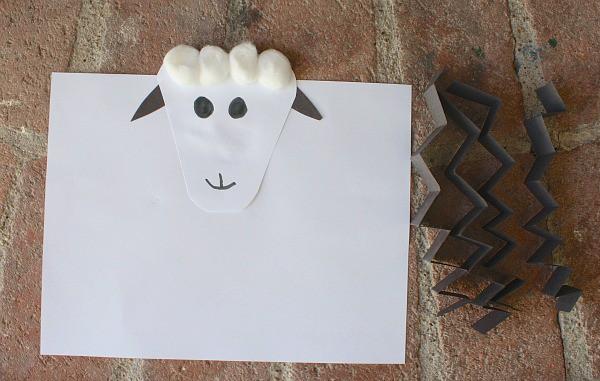 Farm Animal Craft: Sheep~ Buggy and Buddy