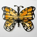 Monarch Butterfly Symmetry Art for Kids