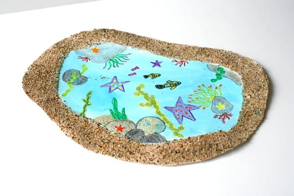 Tide Pool Art for Kids- Buggy and Buddy