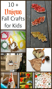 10+ Unique Fall Crafts for Kids to Make