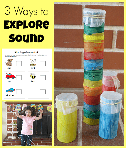 3 Ways to Explore Sound~ Buggy and Buddy