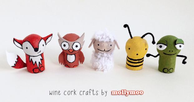 Wine Cork Crafts: Pocket Pal Animals~ MollyMoo